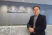 霸菱香港中國股票投資董事方偉昌認為,港股後市主要仍看中國經濟和美國息口走勢,料中央刺激經濟措施要到明年第二季後才見效果。(曾憲宗攝)