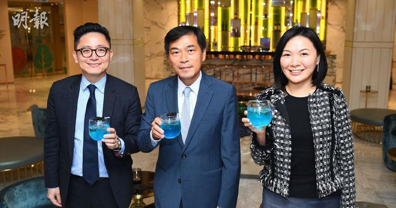 楊偉銘(左)、黃光耀(中)、陳惠慈(右)(賴俊傑攝)