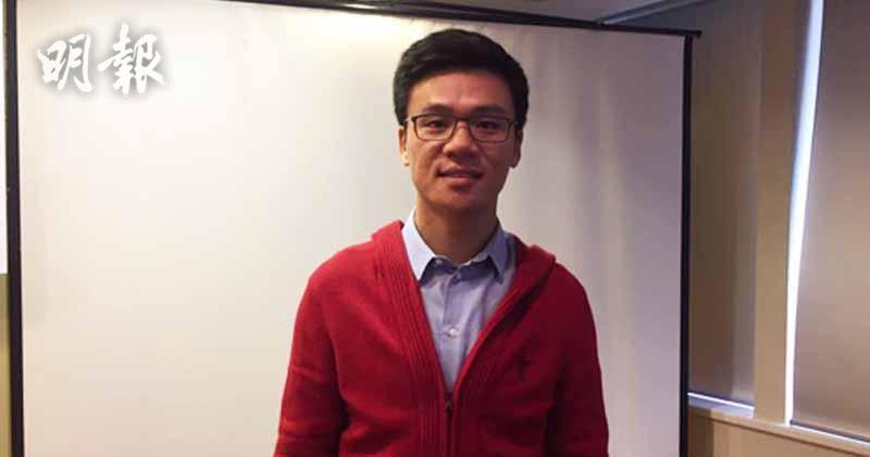 陞域集團主席鄧耀昇。(甘潔瑩攝)