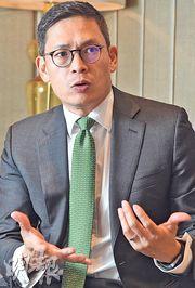 安本姚鴻耀認為中國消費市場最近增長放緩,並非崩潰,他仍看好中資消費股。(劉焌陶攝)