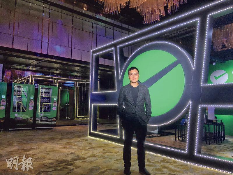 騰訊國際業務部香港及台灣總經理譚樂文表示,集團希望先打好香港WeChat Pay HK用戶根基,培養用戶習慣。(李哲毅攝)