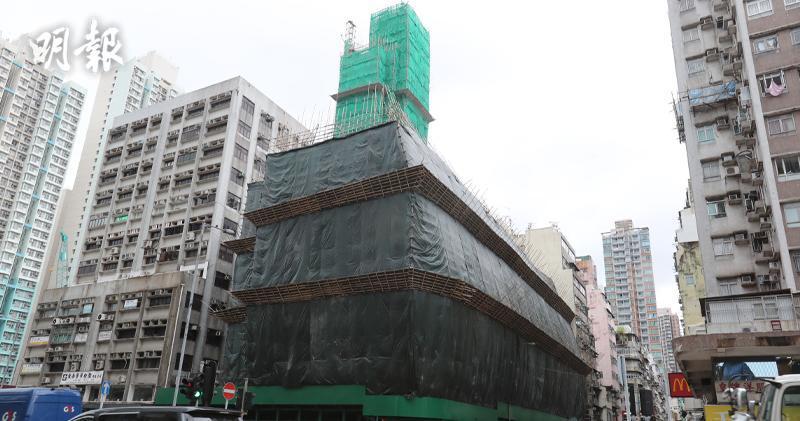 深水埗青山道/元州街重建項目