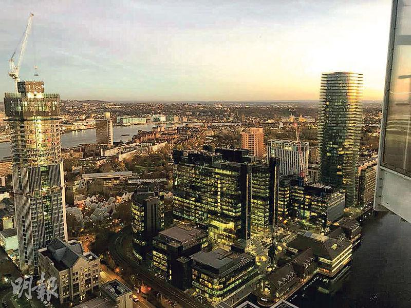 South Quay Plaza位於倫敦金融中心區,單位可欣賞開揚景觀。