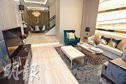 珀爵首度開放兩個現樓示範單位,包括實用面積2027方呎的珀爵.御28號屋,單位採6房雙套間隔。(賴俊傑攝)