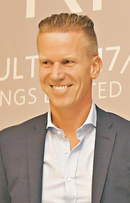 思捷新行政總裁Anders Christian Kristiansen(圖)接棒近半年,將推出「新5年計劃」。