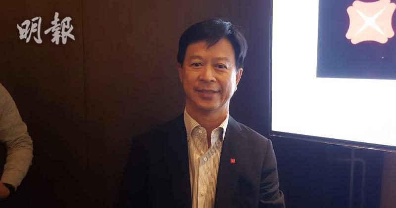 星展香港企業及機構銀行總監張建生(歐陽偉昉攝)