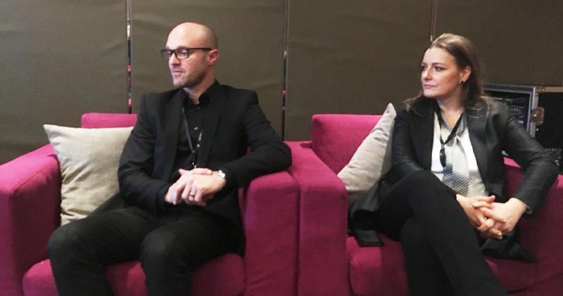 左起:宜家智能家居業務負責人Björn Block、宜家零售中國區總裁Anna Pawlak-Kuliga