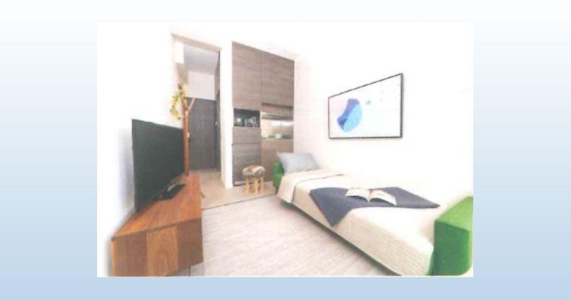8樓10室,實用164方呎,開放式間隔(資料來源:菁雋售樓處派發宣傳品)