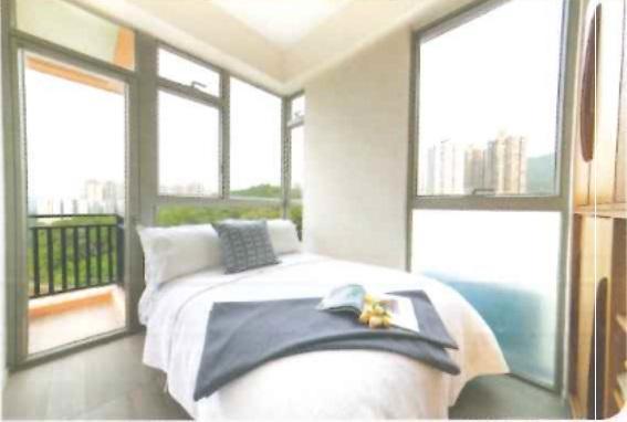 8樓18室,實用387方呎,兩房間隔