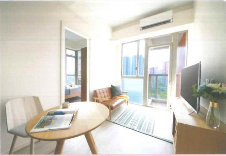 801室,實用246方呎,一房間隔