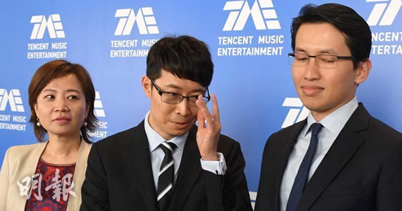 騰訊音樂今舉行投資者推介會 不回應招股信心等問題。(劉焌陶攝)