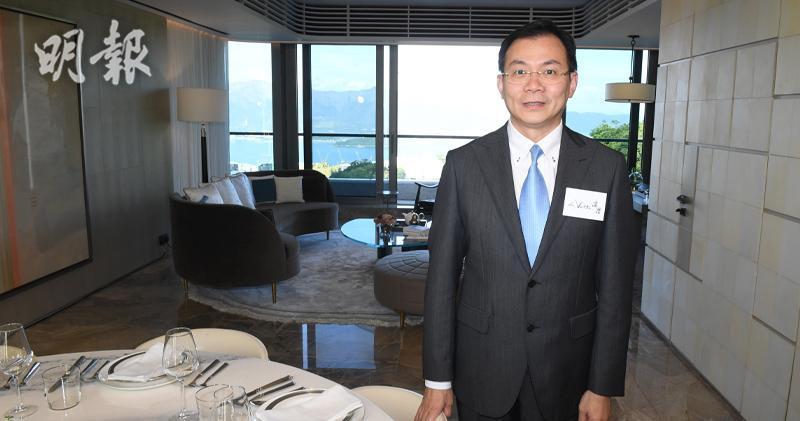 永泰地產發展執行董事兼銷售及市務總監鍾志霖(劉焌陶攝)