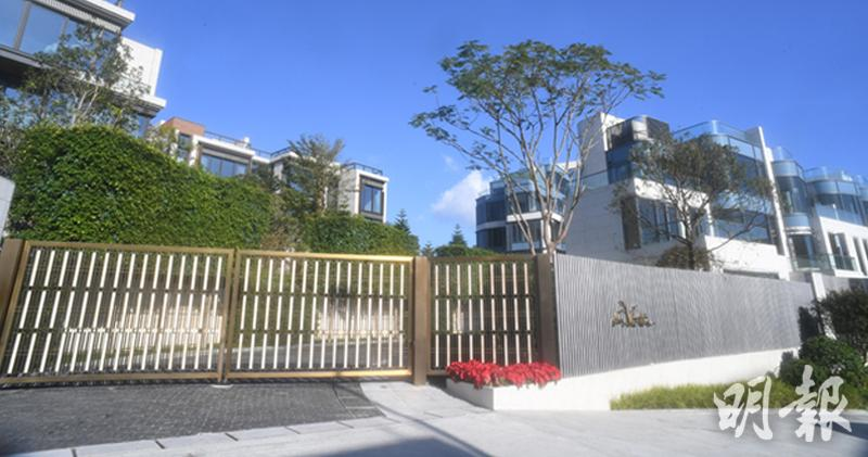 九肚山全新低密度洋房及豪宅項目 「La Vetta澐灃」首度開放現樓特色大宅示範單位(劉焌陶攝)