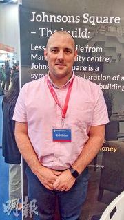 英發展商Chris Holland看好曼徹斯特樓市,指其投資價值勝倫敦。