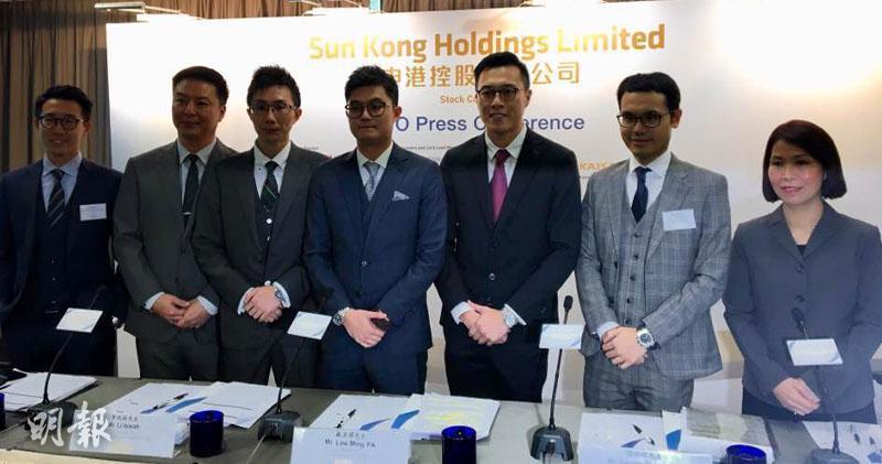 香港柴油分銷商申港控股明天起招股。(蕭嘉聰攝)