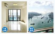 海之戀以大部分單位可享海景作賣點,發展商近日開放現樓單位予代理參觀,單位位處6座極高層,露台享汀九橋和青馬大橋景觀。