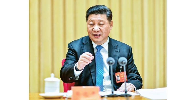 中央經濟工作會議昨日結束,為明年經濟工作定下總基調及提出七大任務。圖為國家主席習近平會議上發言。(新華社)