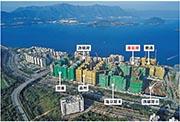 大埔白石角的臨海地段有多個項目正在興建當中,包括新地雲滙、嘉華嘉熙、億京海日灣和海日灣II、信置逸瓏灣8及鷹君朗濤,6個項目共5888個單位。