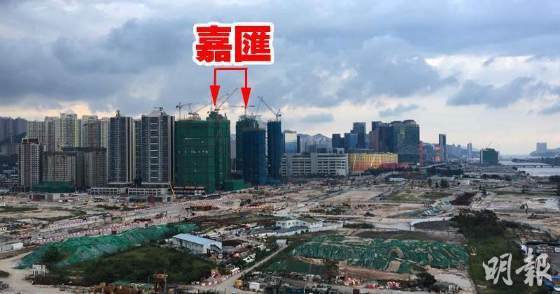 嘉匯中層1房戶新近以月租1.48萬元租出。(資料圖片)