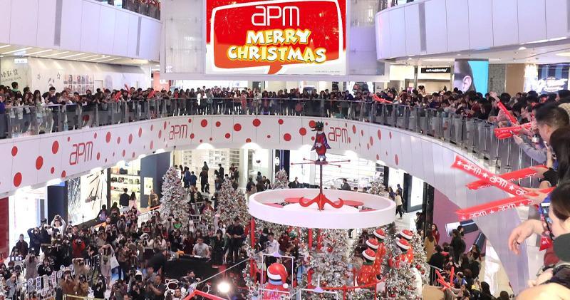 新地15商場聖誕營業額2.3億升13%