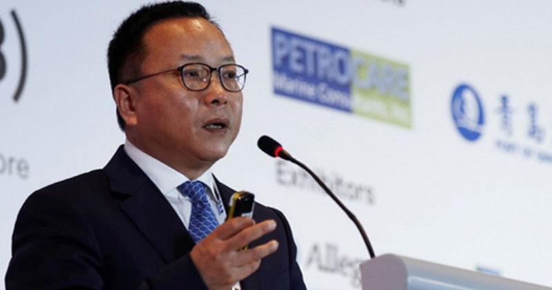 中國國際石油化工聯合公司的董事長陳波。(網上圖片)
