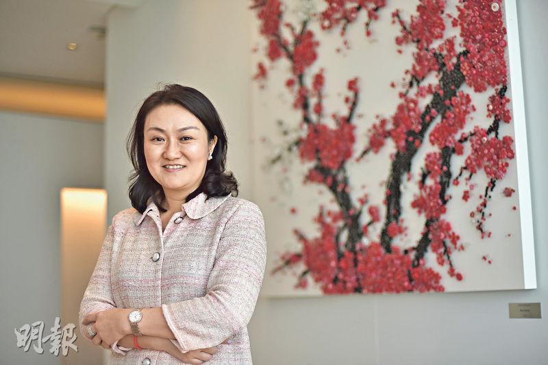 對於明年經濟情况,謝琳(圖)認為,雖然中國的經濟增長並不差,不過市場較看重能否勝過以前增長,明年中國經濟要重回6.6%以上的增長相當有難度。(馮凱鍵攝)