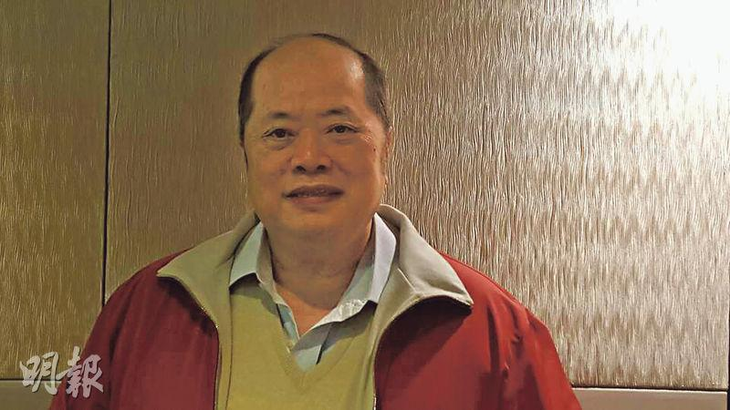 張華峰表示,預期市場最壞的時刻未到,有需要為本港證券業界提供支援,例如降低證券商進入大灣區門檻至1億元,帶動中小證券商發展。(陳偉燊攝)