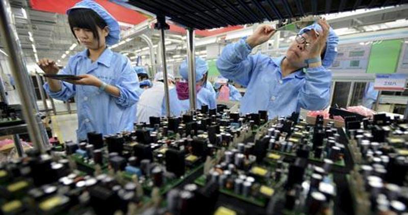 12月官方製造業PMI跌穿盛衰分界線 2016年7月後首次