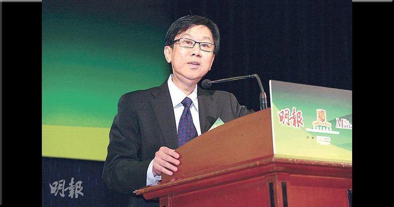 中文大學商學院客座教授冼日明
