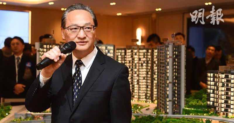 中海外地產董事總經理游偉光(賴俊傑攝)