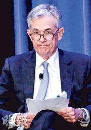 聯儲局主席鮑威爾放鴿,強調對利率政策保持耐性,刺激道指早段升逾600點,標普500指數和納指升逾3%。(路透社)