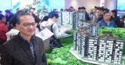 中海外地產董事總經理游偉光表示,天鑽未來或加價加推。(劉焌陶攝)