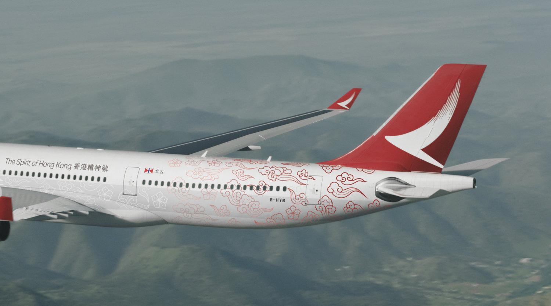 八方聯智非首次與太古合作,其中國泰旗下客機亦曾聘用八方聯智設計客機外觀。(八方聯智官網圖片)