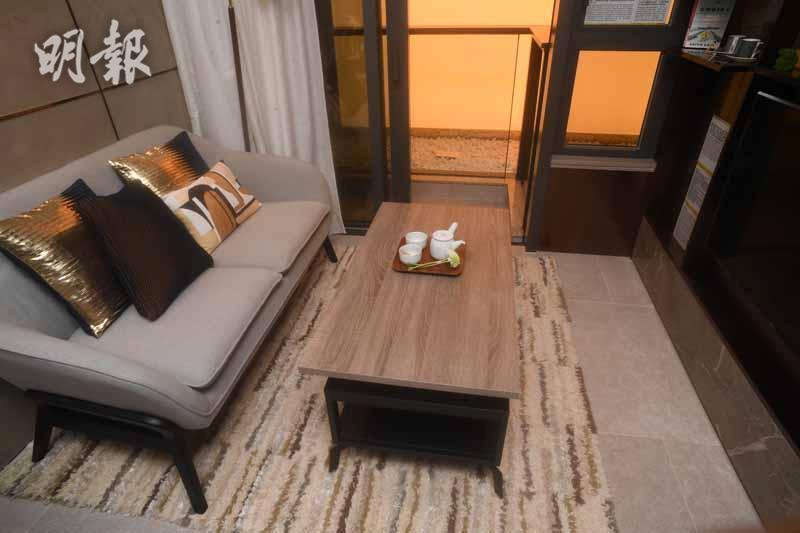 土瓜灣Downtown38一房示位(劉焌陶攝)