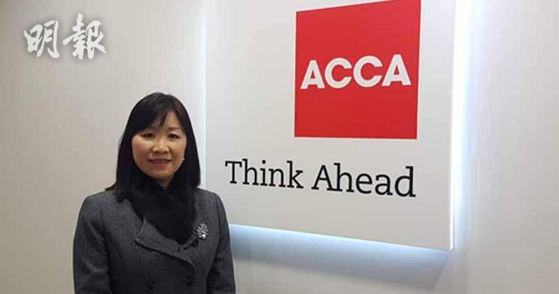 特許公認會計師公會香港分會政策主管朱暖暉