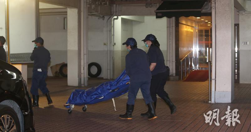 上月翠華大廈發現水缸藏屍案(資料圖片)