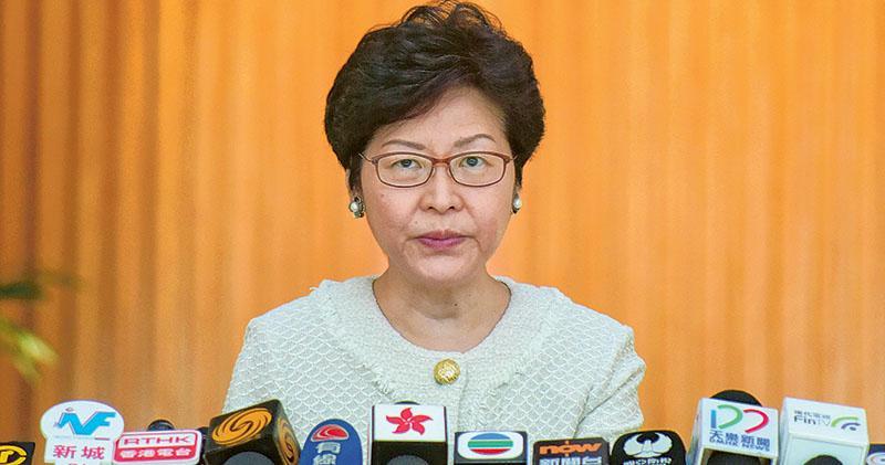 林鄭:爭取一兩個月內公布大灣區規劃綱要