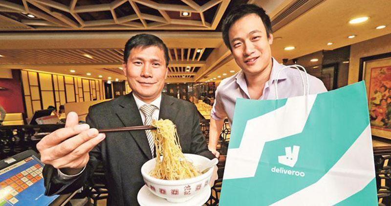 戶戶送:計劃今年送餐專員合作餐廳增加一倍
