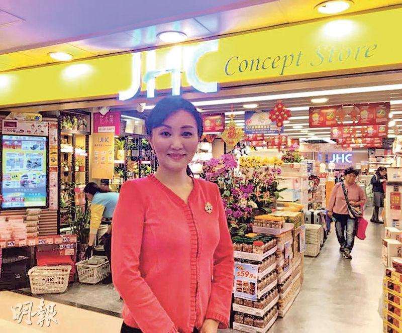 日本城母企國際家居零售主席兼行政總裁魏麗霞表示,希望利用「易購點」吸引年輕顧客。(蕭嘉聰攝)