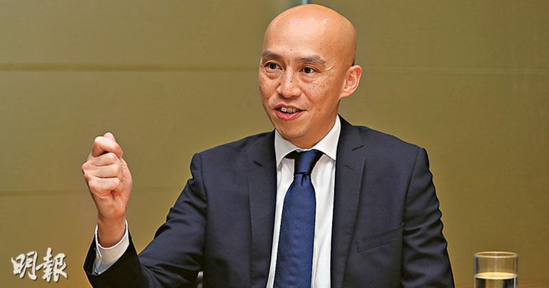 管理盈富基金的道富環球投資管理SPDR ETF香港業務主管陳俊文(圖)認為,盈富是「政府入市後再退市的最佳案例」,也是「長線投資的典範」。(李紹昌攝)