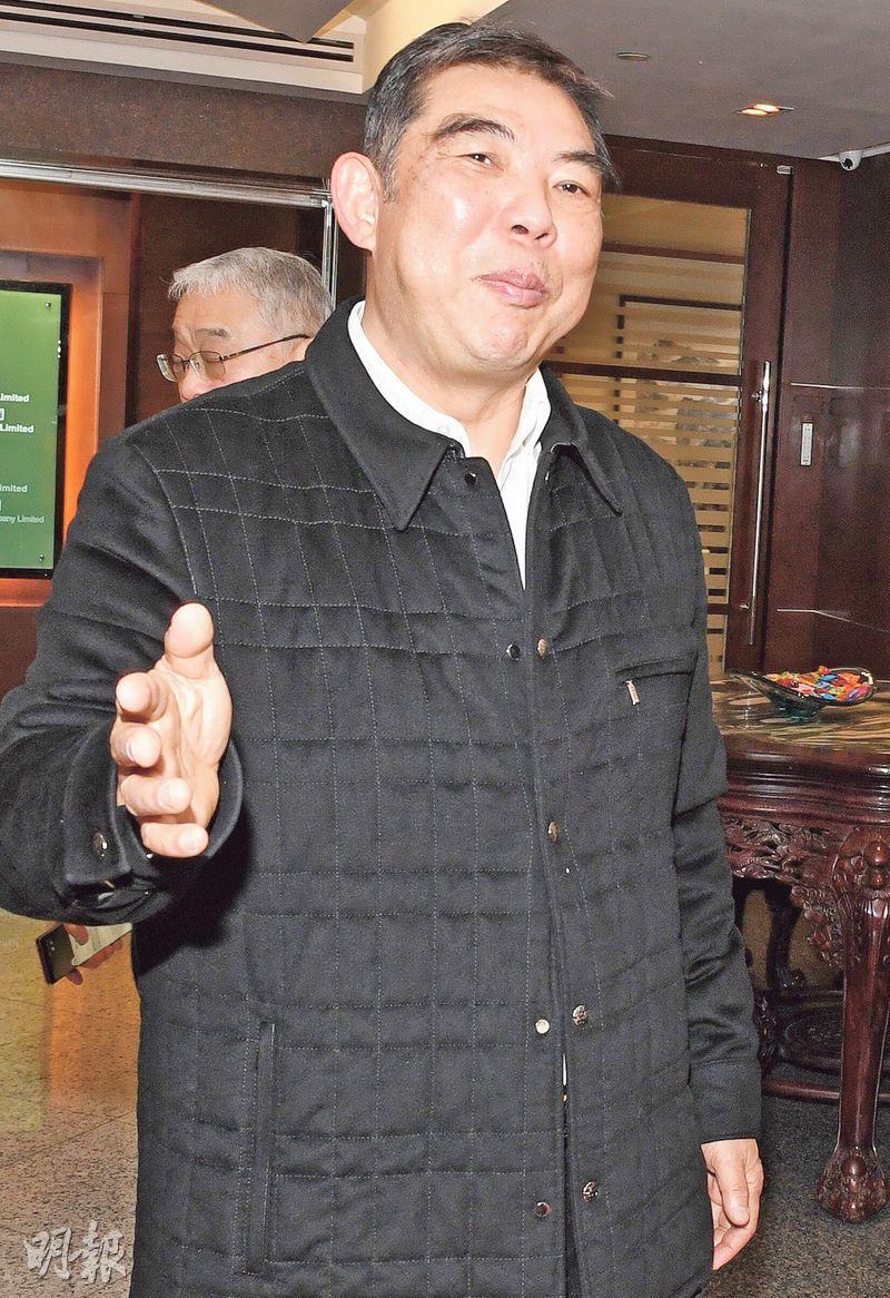 結好控股主席洪漢文表示,將與日本合作伙伴Shotoku Rinaldo合作,在靜岡縣牧之原市開發綜合度假村。(劉焌陶攝)