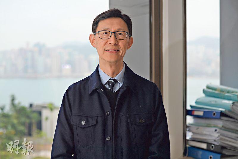 陳昌傑認為,以公私營合作模式發展農地的方法屬架牀疊屋,他認為港府加快在新界規劃新發展區,才是發展農地最有效的方法。(楊柏賢攝)