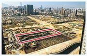 嘉華今年重點新盤、涉單位1006伙的啟德項目(紅框示),涵蓋開放式至4房戶,溫偉明表示,不會刻意低價開售。