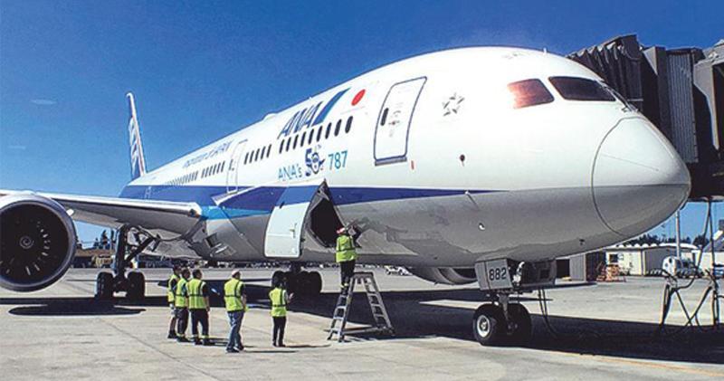 傳全日空向波音購入30架飛機 作價273億