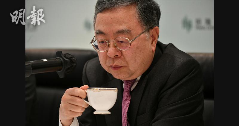 恒隆地產主席陳啟宗(蘇智鑫攝)