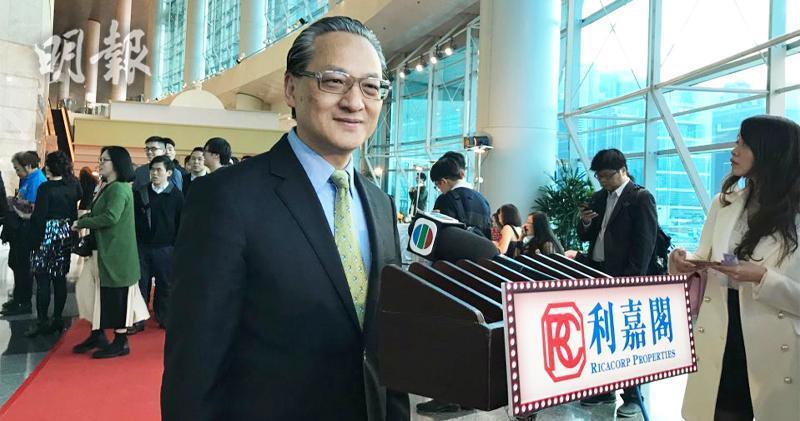 中海外董事總經理游偉光(張允亭攝)
