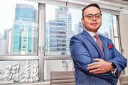 資深物業投資者及測量師張翹楚表示,料租金堅挺可支持樓價,預測樓價今年全年可升3%至5%。(李紹昌攝)