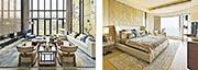 梁志天指,從前內地人追求金碧輝煌的設計或想法較「老土」,令集團「唔敢做」私宅設計,但現在內地人品味提升,已與設計師拉近距離。圖為梁志天旗下私人住宅設計項目。
