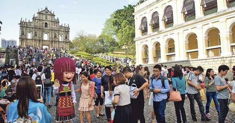 澳門春節首4日訪澳內地旅客升26%