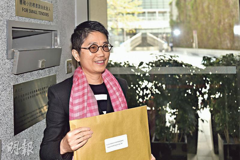 嘉華香港地產發展及租務總監尹紫薇表示,優景里地皮位置自成一國,預計可建逾千個單位。(馮凱鍵攝)